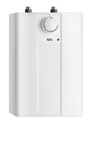 AEG Haustechnik AEG druckloser Kleinspeicher Huz 5 Basis, 5l, 2 kW, Untertisch, Steckerfertig, stufenlose Temperaturwahl von ca. 35-85 °C, 222162, 230 V, 5 Liter