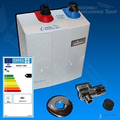PERFECT Klein Durchlauferhitzer 7,0kw elektronisch Untertisch